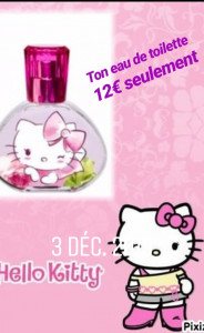 Eau de toilette hello Kitty